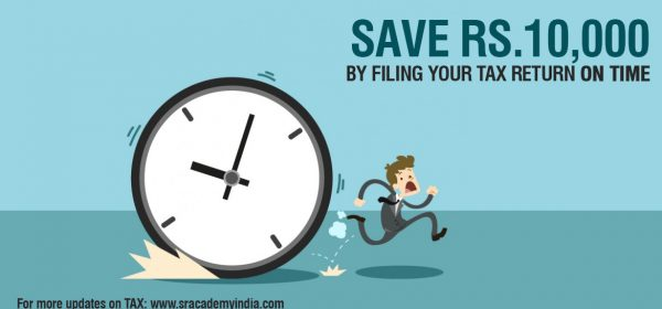 penalty for late filing of income tax return sec 234f