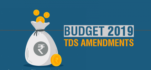 TDS changes in Budget 2019 - SR Academy India